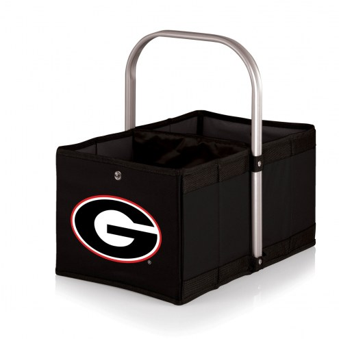 Georgia Bulldogs Black Urban Picnic Basket