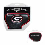 Georgia Bulldogs Blade Putter Headcover