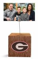 Georgia Bulldogs Block Spiral Photo Holder