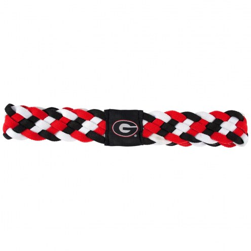 Georgia Bulldogs Braided Head Band