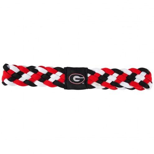 Georgia Bulldogs Braided Head Band