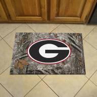 Georgia Bulldogs Camo Scraper Door Mat