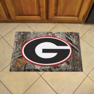 Georgia Bulldogs Camo Scraper Door Mat