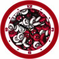 Georgia Bulldogs Candy Wall Clock