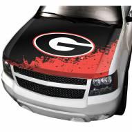 Georgia Bulldogs Car Hood Cover