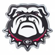 Georgia Bulldogs Color Car Emblem