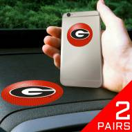 Georgia Bulldogs Cell Phone Grips - 2 Pack