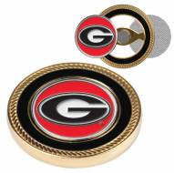 Georgia Bulldogs Challenge Coin with 2 Ball Markers