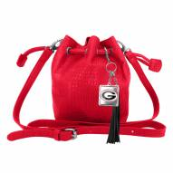 Georgia Bulldogs Charming Mini Bucket Bag
