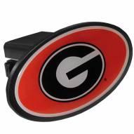 Georgia Bulldogs Class III Plastic Hitch Cover