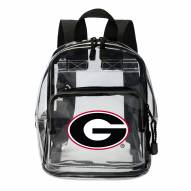 Georgia Bulldogs Clear Stadium Mini Backpack