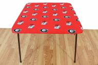 Georgia Bulldogs Card Table Cover