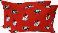 Georgia Bulldogs Printed Pillowcase Set