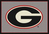Georgia Bulldogs College Team Spirit Area Rug