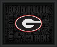 Georgia Bulldogs College Word Cloud