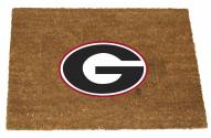 Georgia Bulldogs Colored Logo Door Mat