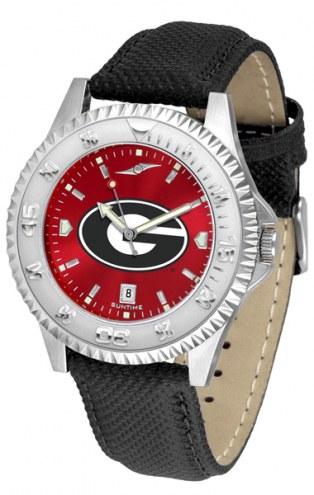 Georgia Bulldogs Competitor AnoChrome Men's Watch