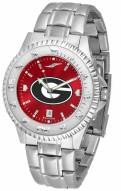 Georgia Bulldogs Competitor Steel AnoChrome Men's Watch