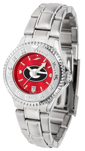 Georgia Bulldogs Competitor Steel AnoChrome Women's Watch