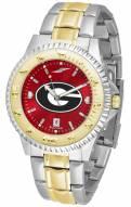 Georgia Bulldogs Competitor Two-Tone AnoChrome Men's Watch