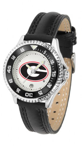 Georgia Bulldogs Competitor Women's Watch