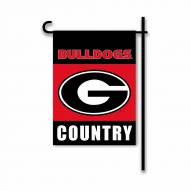 Georgia Bulldogs Country Garden Flag