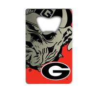 Georgia Bulldogs Credit Card Style Bottle Opener