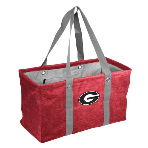 Georgia Bulldogs Crosshatch Picnic Caddy
