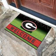Georgia Bulldogs Crumb Rubber Door Mat