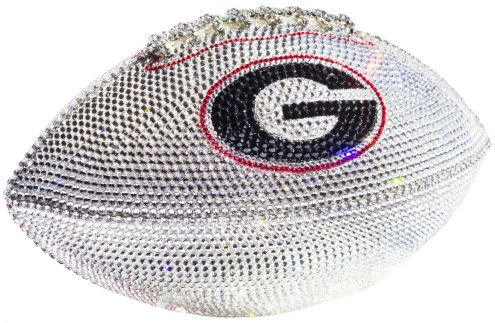 Georgia Bulldogs Swarovski Crystal Football