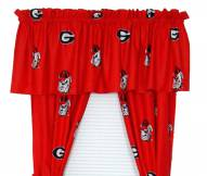 Georgia Bulldogs Curtains