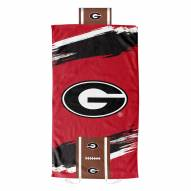 Georgia Bulldogs Cycle Comfort Towel with Foam Pillow