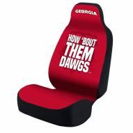 Georgia Bulldogs Dawgs Universal Bucket Car Seat Cover