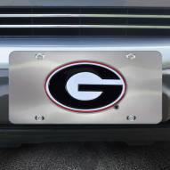 Georgia Bulldogs Diecast License Plate