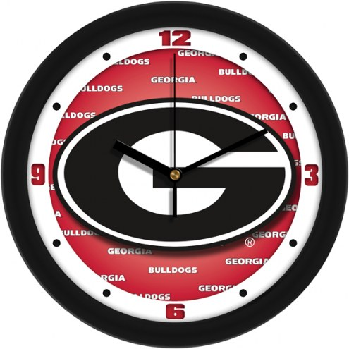 Georgia Bulldogs Dimension Wall Clock