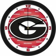 Georgia Bulldogs Dimension Wall Clock