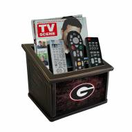 Georgia Bulldogs Distressed Team Color Media Organizer