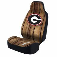 Georgia Bulldogs Distressed Universal Bucket Car Seat Cover