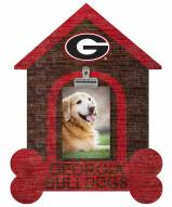 Georgia Bulldogs Dog Bone House Clip Frame