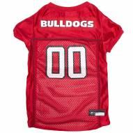 Georgia Bulldogs Dog Football Jersey