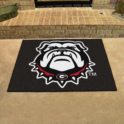 Georgia Bulldogs Dog Head All-Star Mat