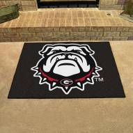 Georgia Bulldogs Dog Head All-Star Mat
