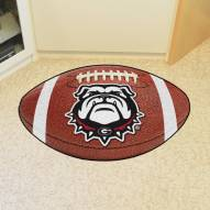 Georgia Bulldogs Dog Head Football Floor Mat