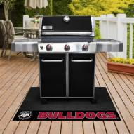 Georgia Bulldogs Dog Head Grill Mat