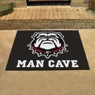 Georgia Bulldogs Dog Head Man Cave All-Star Rug