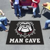 Georgia Bulldogs Dog Head Man Cave Tailgate Mat