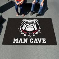 Georgia Bulldogs Dog Head Man Cave Ulti-Mat Rug