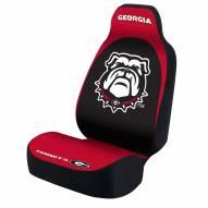 Georgia Bulldogs Dog House Universal Bucket Car Seat Cover
