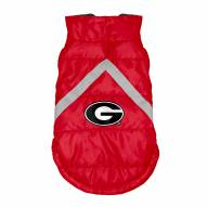 Georgia Bulldogs Dog Puffer Vest