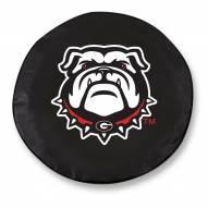 Georgia Bulldogs Tire Cover